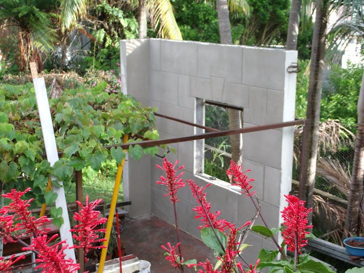 Exemple de finition extérieur, pierres de taille 50 X 100 cm
