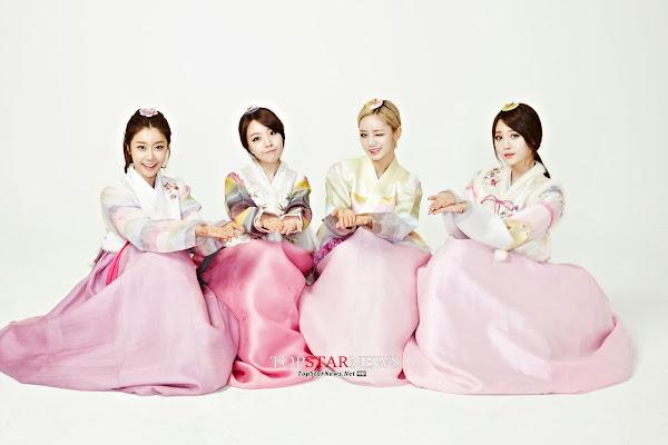 Girls Day Lunar 2014 Hanbok