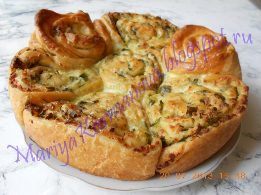 Пироги с адыгейским сыром рецепты с фото