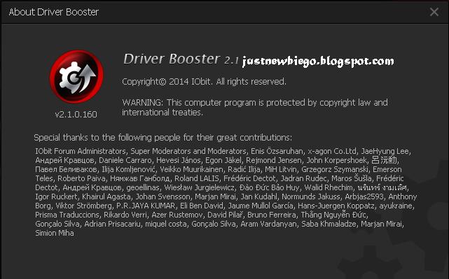Iobit Driver Booster 2.1 update terbaru full version