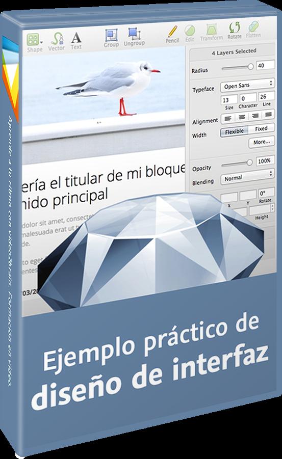 Ejemplo práctico de diseño de interfaz