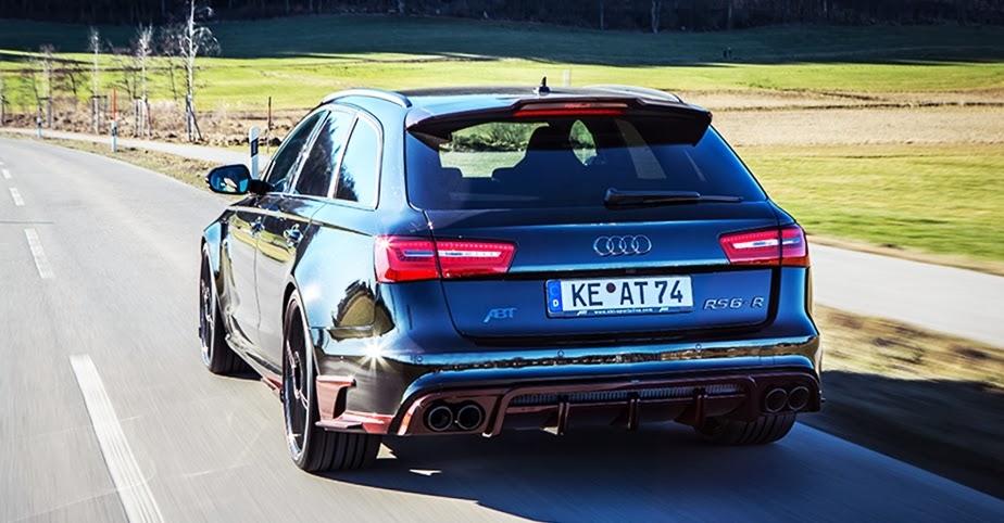 730 hp Audi RS6 Avant by ABT Sportsline