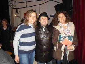 Con Mariona Masferrer y Luisa Gómez