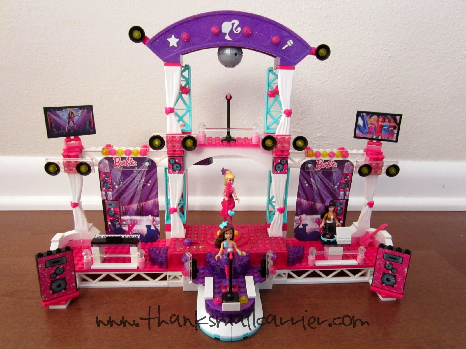 Mega Bloks Barbie Build 'n Play Super Star Stage review