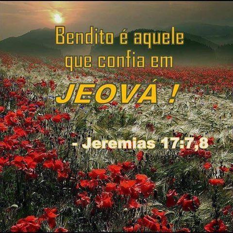 A BIBLIA É A PALAVRA DO DEUS VIVO JEOVÁ.