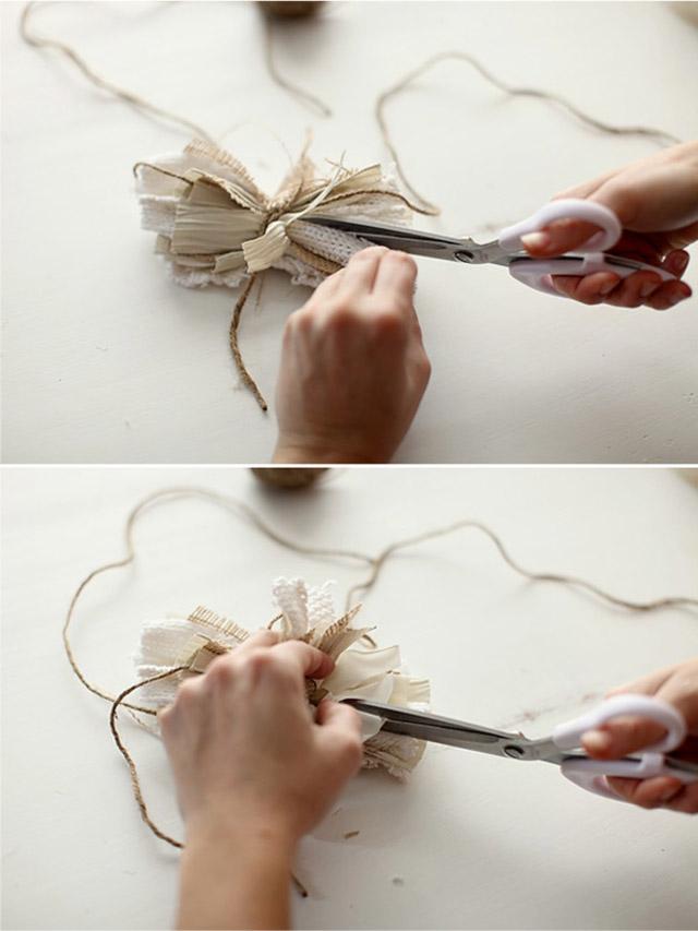 bricolaje como hacer envoltorio de regalo delicados