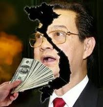 Da Dao Nguyen Tan Dung ten Ban nuoc,An dan ! Da Dao !