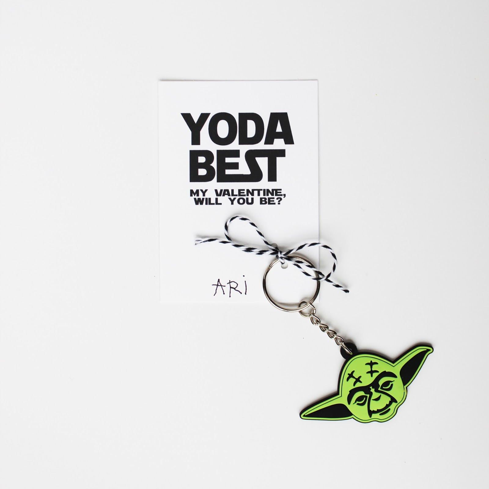 photo regarding Yoda Printable called YODA Most straightforward Training course VALENTINES (Totally free PRINTABLE)