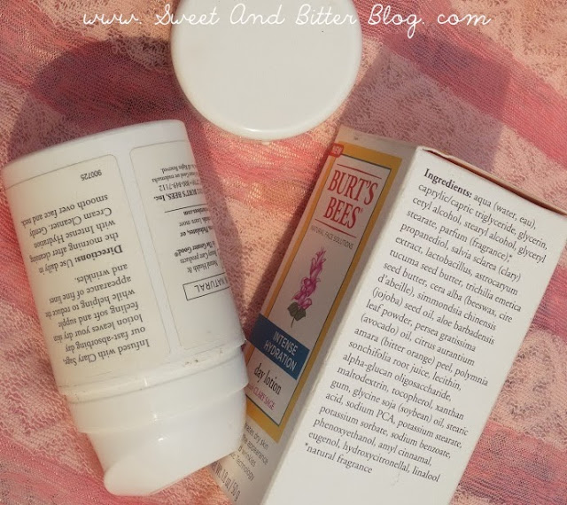 Burt's Bees Intense Hydration Day Lotion with Clary Sage Review