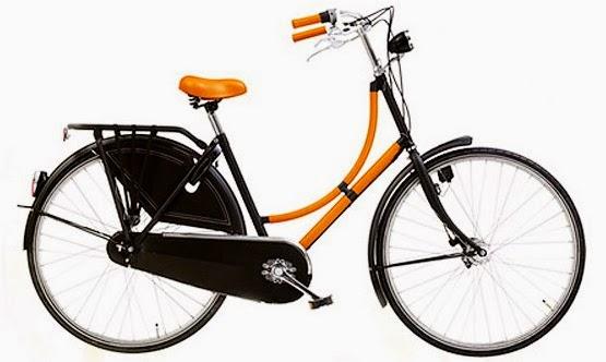 bicicleta de luxo Hermes