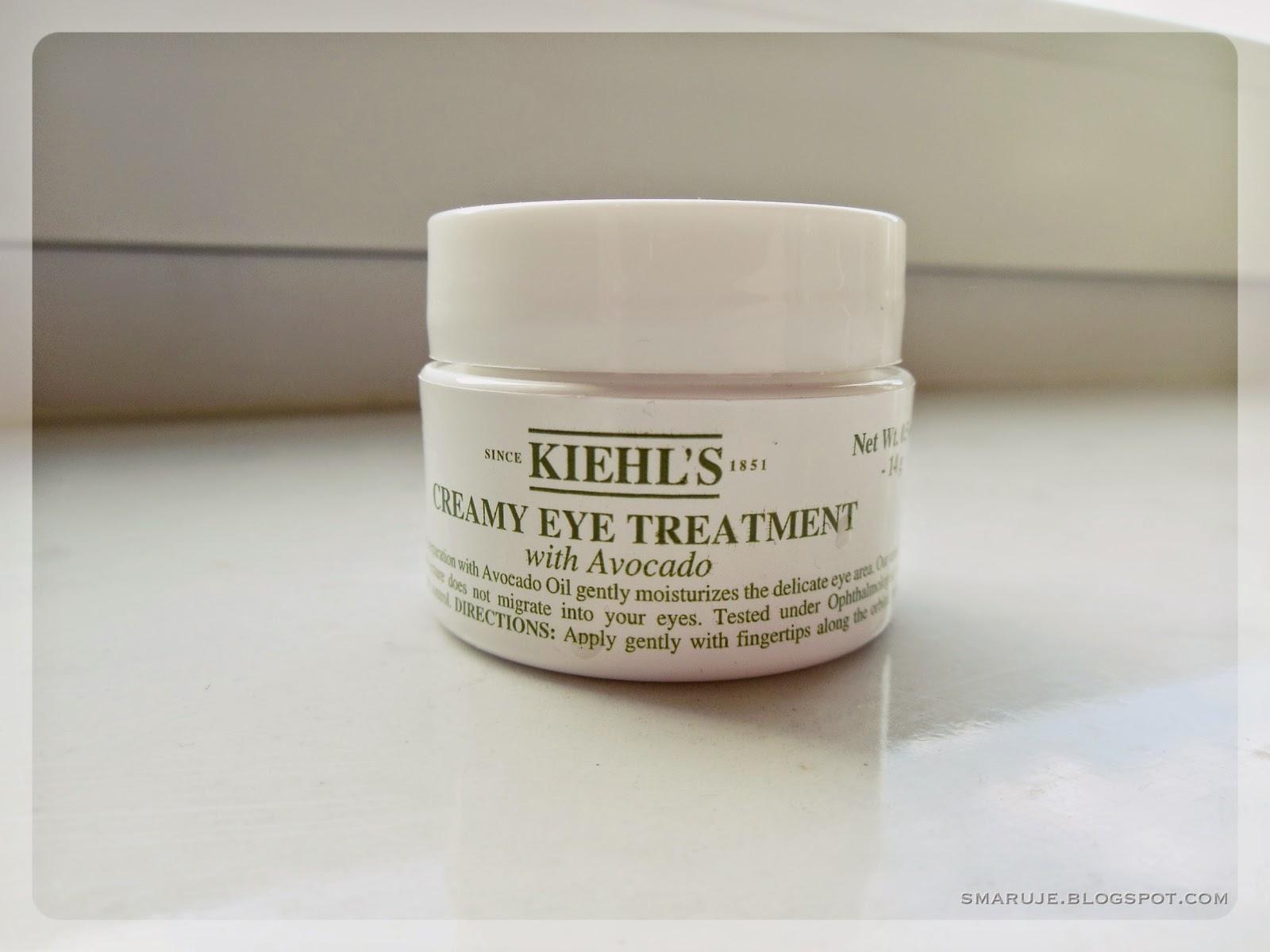 Kiehl's – Creamy Eye Treatment – krem pod oczy z awokado [recenzja]