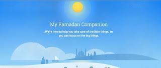 جوجل تطلق صفحة خاصة لمواكبة الصائمين في شهر رمضان المبارك