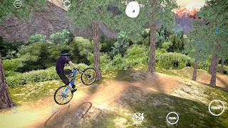 Screenshots of the Shred! Extreme mountain biking for Android tablet, phone.