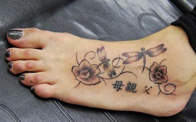 Mẫu hình xăm nhỏ đẹp ở chân cho nữ 6