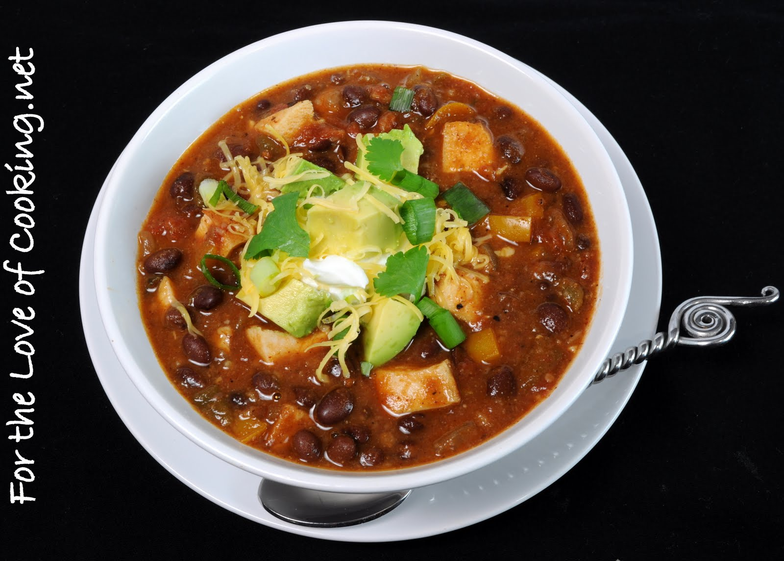 Chili With Chicken And Beans Recipe — Dishmaps
