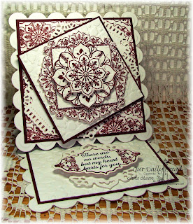 Stamps - Our Daily Bread Designs Ornate Borders and Flowers, Ornate Borders & Flower Die, No Words, Ornate Background