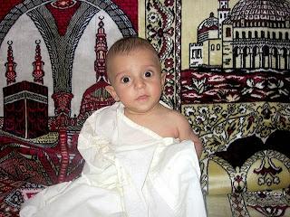 gambar-foto-bayi-muslim-lucu-ihram
