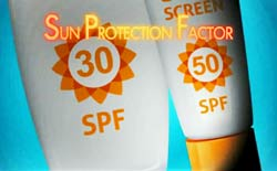 (photo of sunscreens, source FDA)