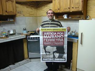 """ADRIÁN """"EL MONO"""" HERRERA, YESERO Y MOTERO, TAMBIÉN PIDE JUSTICIA PARA MARIANO"""