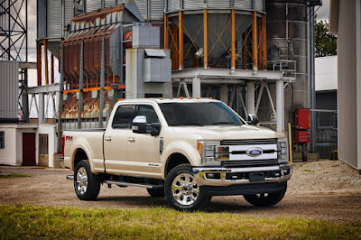 2017 Ford Super Duty Shows Off New Updates