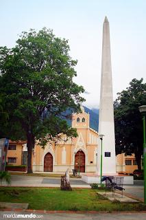 Plaza el Espejo en Merida Venezuela - lugares de interes turistico