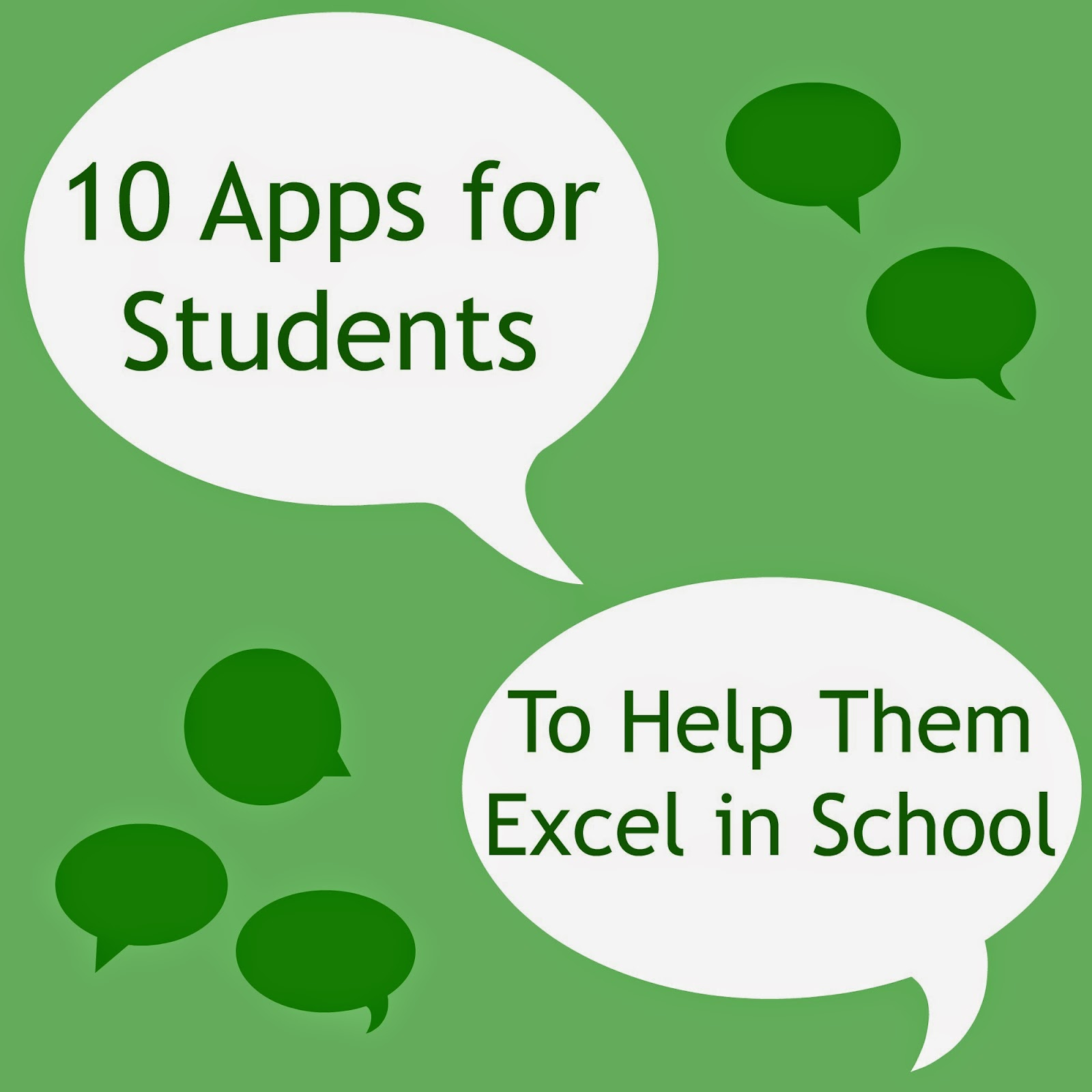 10 best apps for students to help them excel in school