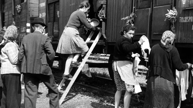 Sudeten Germans expelled Czechoslovakia 1945