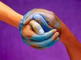 Holding Hands To Help The World
