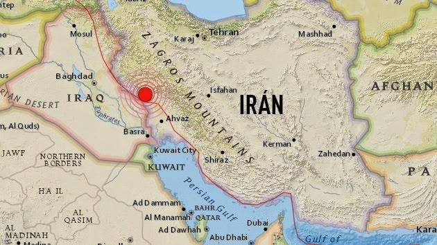 SISMO 6, 2 GRADOS IRAN, 18 DE AGOSTO 2014