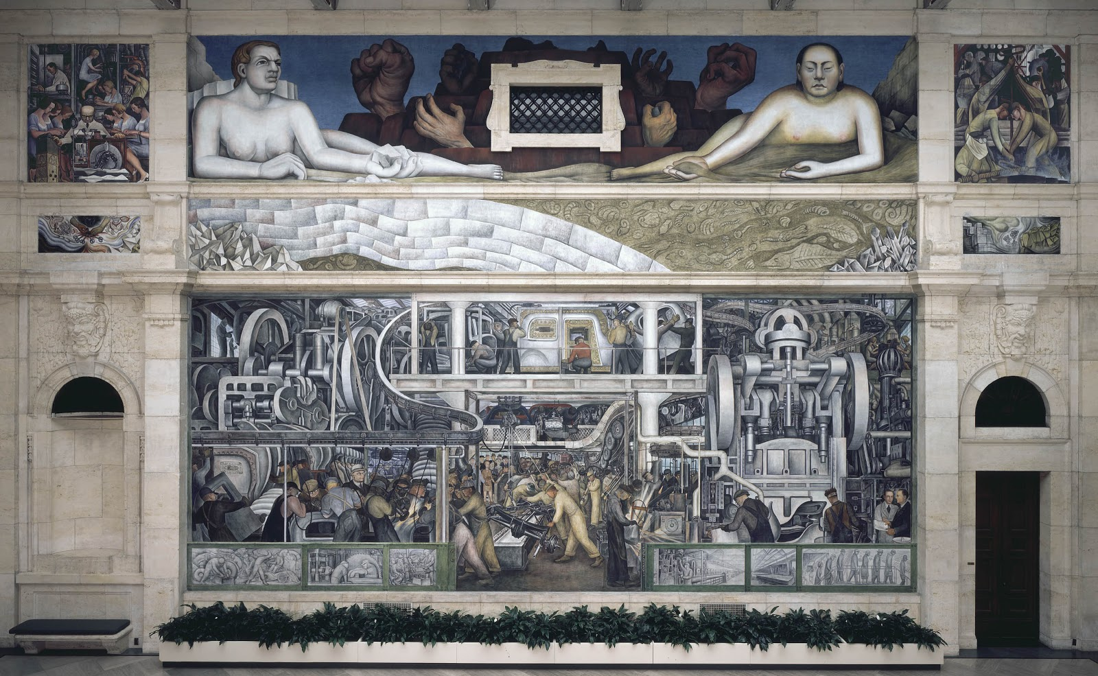 Muralismo mexicano diego rivera 2da parte for Diego rivera ford mural