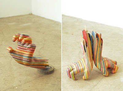 Cool and Creative Skateboard Sculptures (15) 6