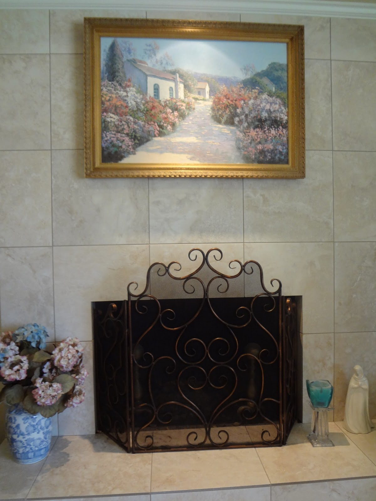 French Country With A Twist French Country Mantel