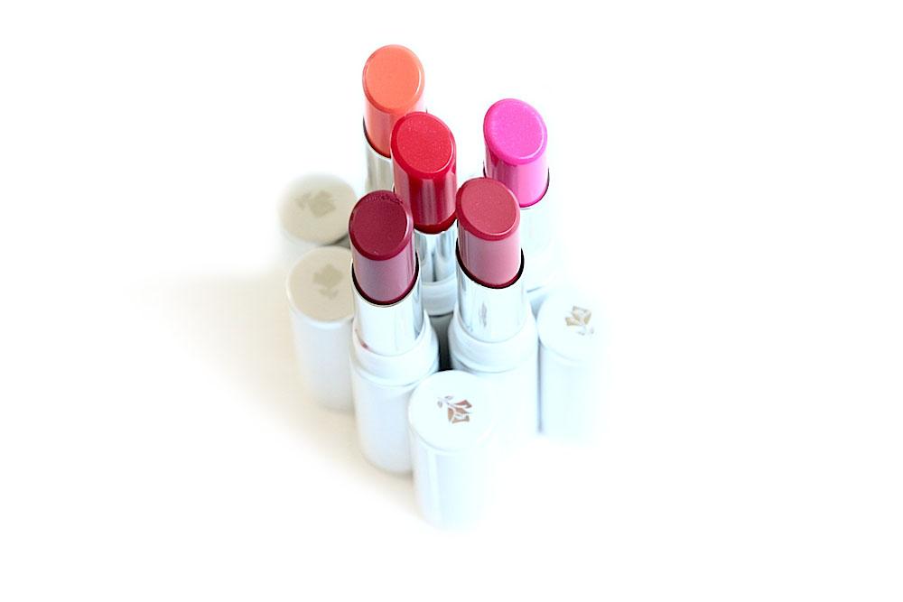 lancôme shine lover baume à lèvres teinté avis test swatches