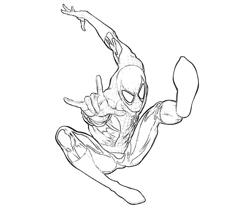 Amazing Spider Man Coloring Pages Printable