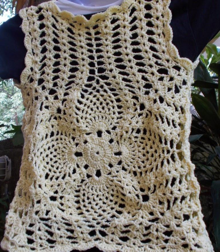 Cute Bolero Free Crochet Patterns : Sweet Nothings Crochet: CUTE PINEAPPLE BOLERO