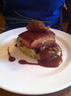 Stitch and Bear - Braised pork belly at Bellinter House