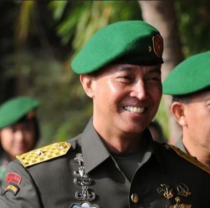 AM Hendropriyono Mayjen TNI Andika Perkasa