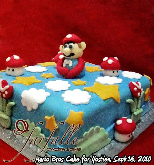 Mario Brother Cake Images : Farfalle Chocolate & Cakes: Mario Bros Cake