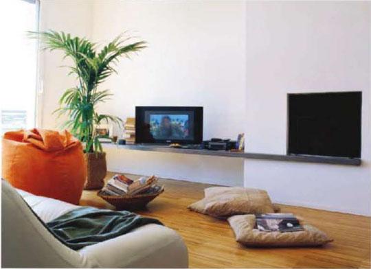 Salas con pisos de parquet ideas para decorar dise ar y for Idee per la sala riunioni