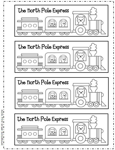 math worksheet : first grade schoolhouse christmas quot;toed quot; stockings and the polar  : Polar Express Math Worksheets