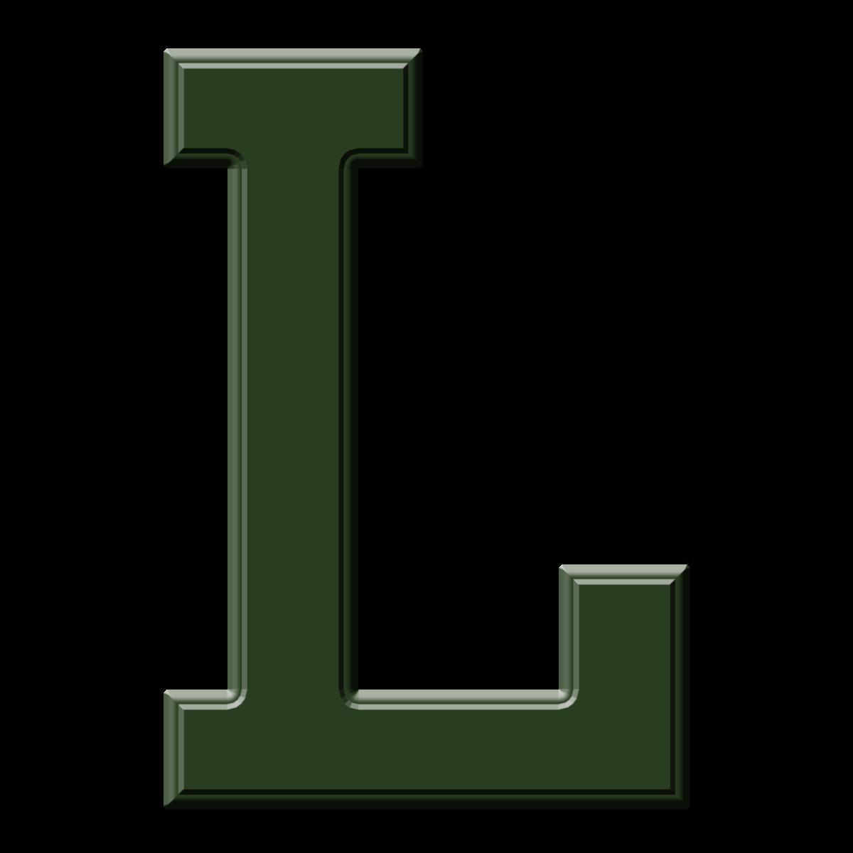 Capital Letter L Template