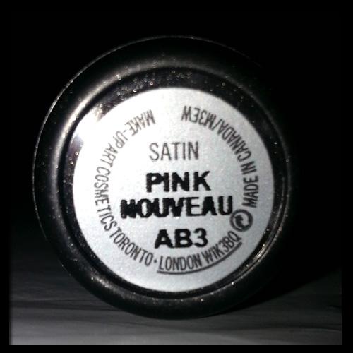 MAC Lipstick in Pink Nouveau