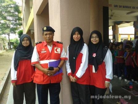 aktiviti korikulum, ahli pbsm, ahli bsmm, bulan sabit merah malaysia