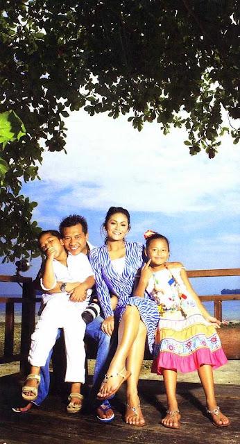 Foto Keluarga Anang Krisdayanti