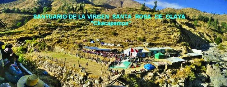 SANTUARIO DE LA VIRGEN  SANTA ROSA DE OLAYA
