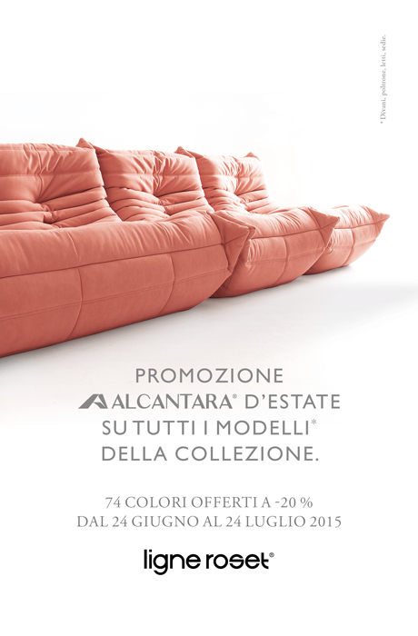ligne roset la nuova promo per l 39 estate 2015. Black Bedroom Furniture Sets. Home Design Ideas