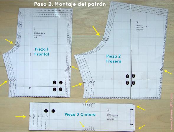 Tutorial costura fácil: shorts para niño (patrón gratuito de ...