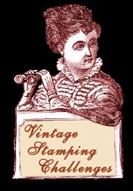 Vintage stamping challenge