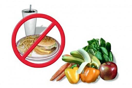 الطعام الغير صحي