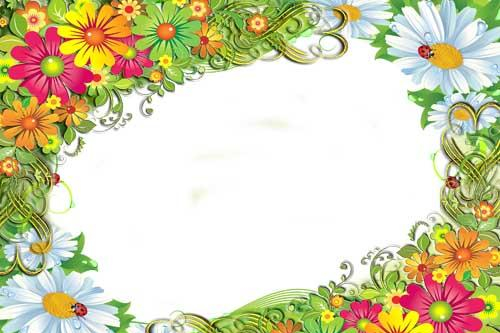 flowers for flower lovers.: Flowers photo frames designs ideas.